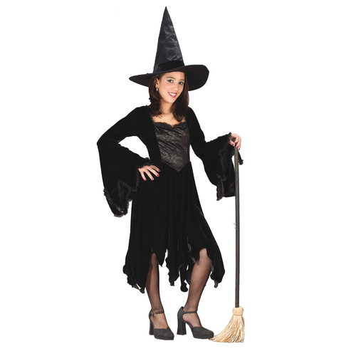 Velvet Witch Blk Child Large