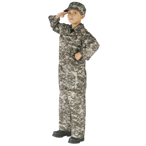Soldier Costume Child Small 002G5V0392