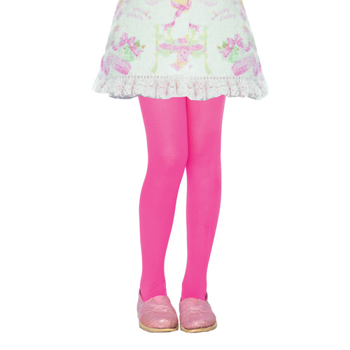 Tights Child Neon Pink 11-13