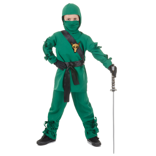 Ninja Child Green Small 002LK90392