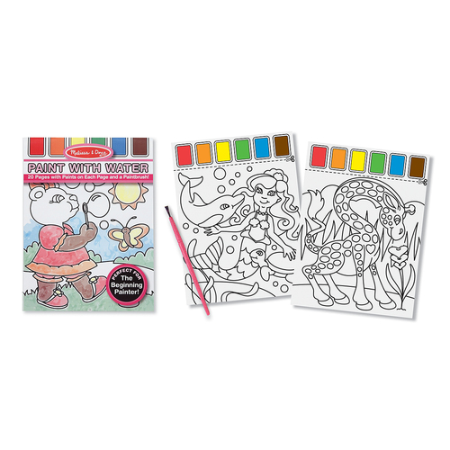 Melissa & Doug  Paint with Water - Pink 00JD9J045B