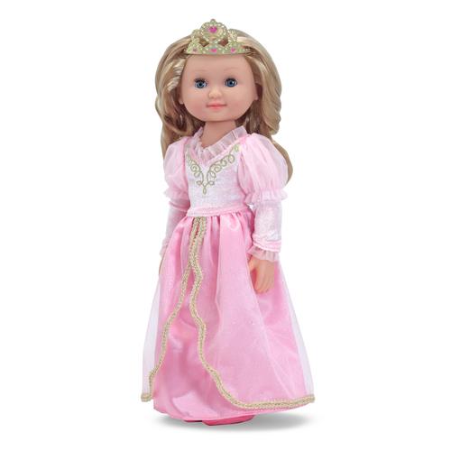 "Melissa & Doug  Celeste - 14"" Princess Doll 00JDJN045B"