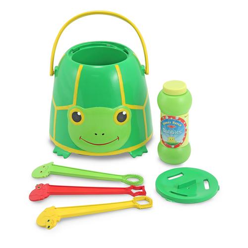 Melissa & Doug  Tootle Turtle Bubble Bucket 00JDPG045B