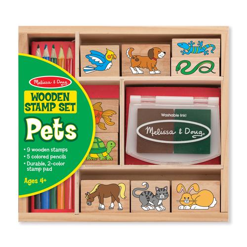 Melissa & Doug  Pets Stamp Set 00JEAA045B