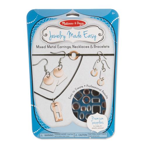 Melissa & Doug  Mixed Metal Earrings, Necklaces & Bracelets