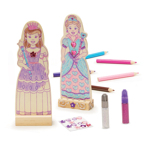 Melissa & Doug  Princess Dolls 00JEDO045B