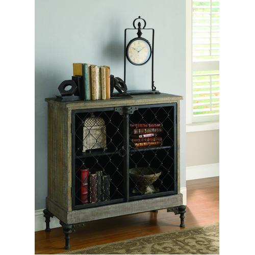 Crestview Rectangle Wood Orleans 2 Door Cabinet 00L2UT013C