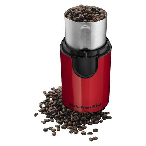 KitchenAid BCG111 12-Cup Coffee Grinder - Empire Red 00N4GY0330