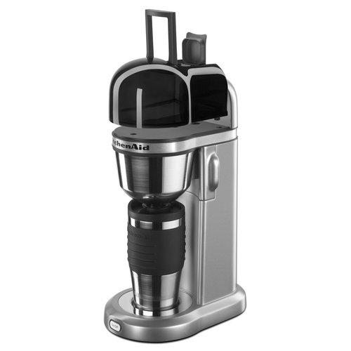 KitchenAid KCM0402CU Personal Coffee Maker - Contour Silver 00N4MX0330