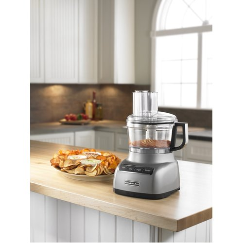 KitchenAid KFP0711CU 7 Cup Food Processor - Contour Silver 00N4PZ0330