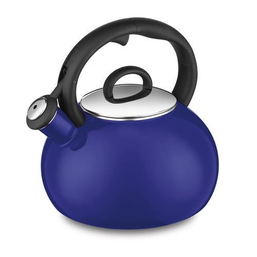 Cuisinart CTK-EOS17CBL Aura 2-Quart Enamel Teakettle - Cobalt Blue 00N53Z0330