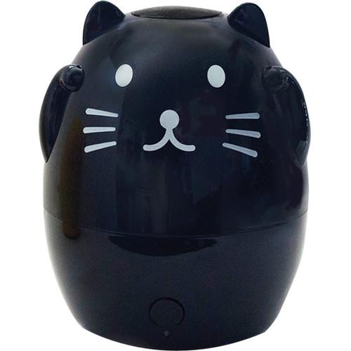 GreenAir Kids Cat Shaped Ultrasonic Aroma Oil Diffuser - Black 00N99H0330
