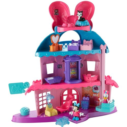 Fisher-Price Disney Junior Minnie's Happy Helpers Home Sweet Headquarters Playset 12D-797-DTR38