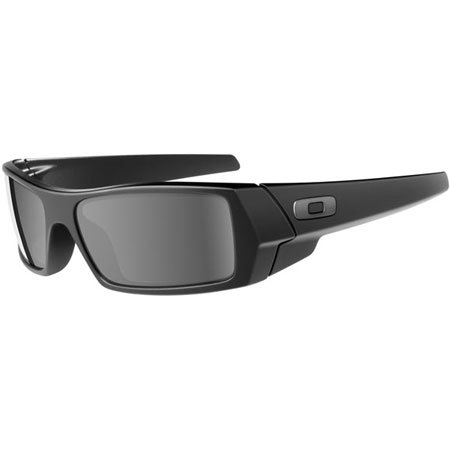 Oakley S/G Gascan Sunglasses - Matte Black / Grey