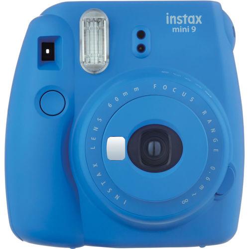 Fujifilm 4U1648 Instax Mini 9 Instant Camera - Cobalt Blue