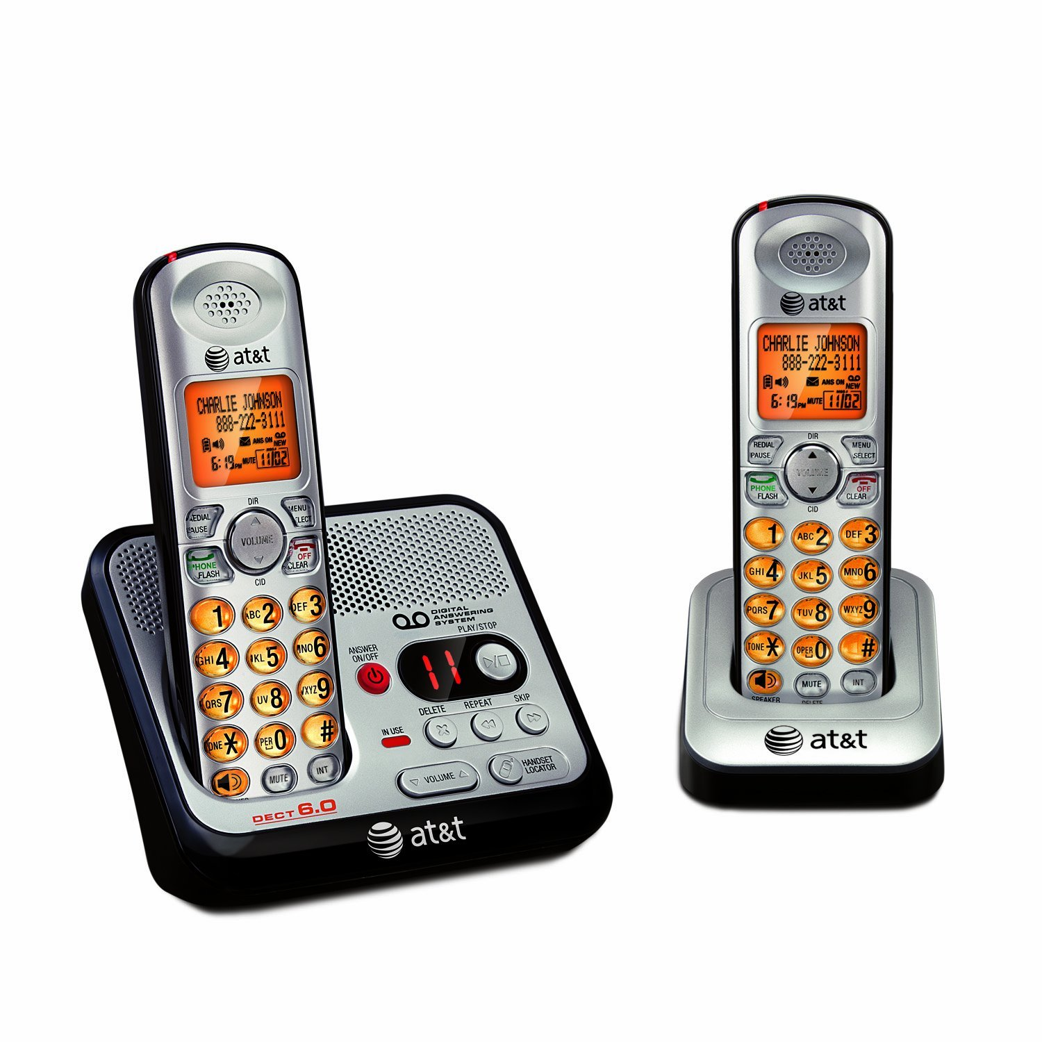 AT&T EL52200 Dual Handset Answer System