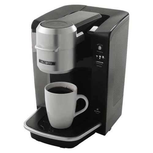 Mr. Coffee 40 oz. Single Cup Keurig Brewed System - Black 06B-R96-BVMCKG6