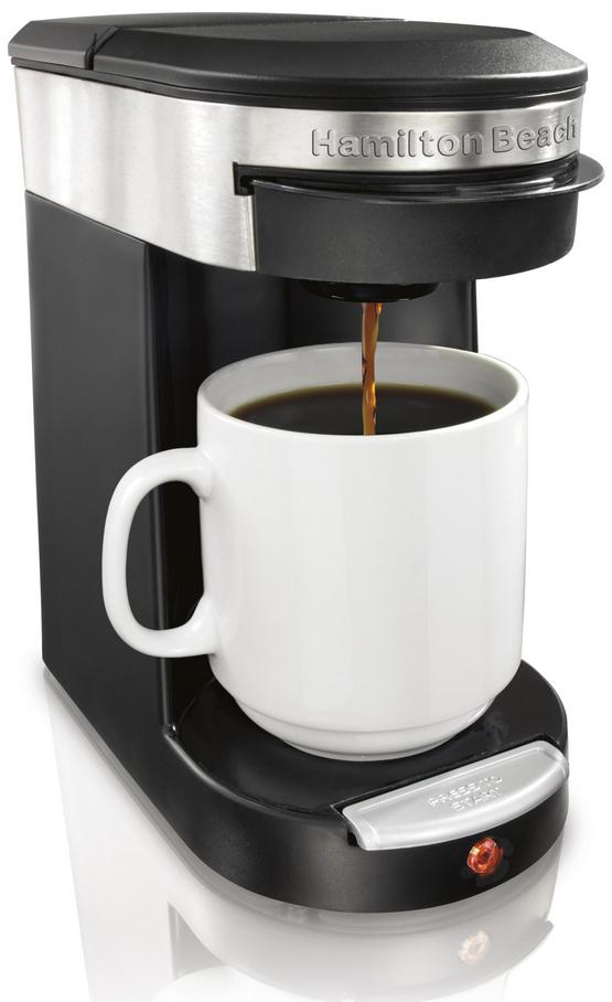 Hamilton Beach Personal One Cup Pod Brewer - Black 06B-924-49970