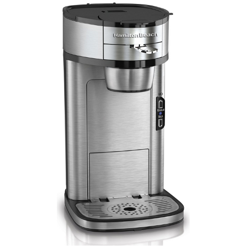 Hamilton Beach The Scoop® Single-Serve Coffee Maker - Stainless Steel 06B-Q19-49981