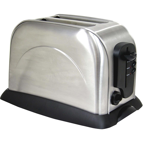 Best Home 2 Slice Toaster - Stainless Steel