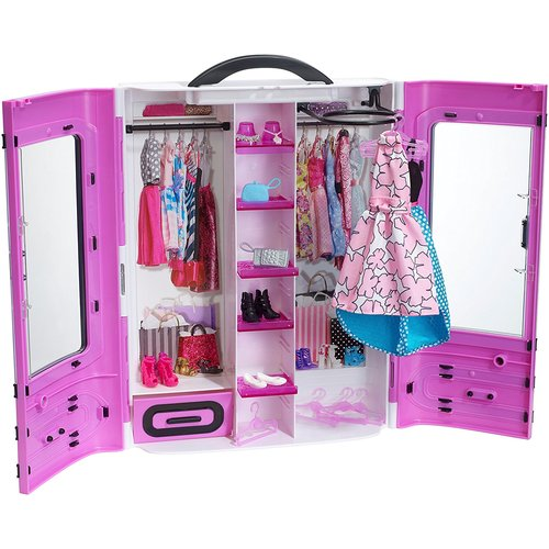 Barbie Fashionistas Ultimate Closet - Purple 12D-766-DPP71