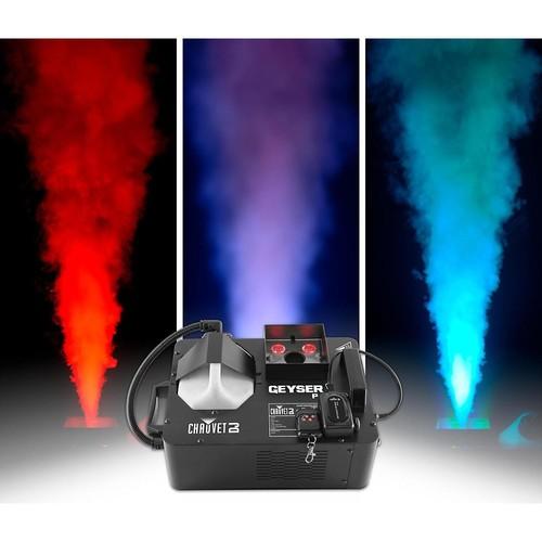 Chauvet DJ Geyser P4 Fog Machine with Lighting Effects
