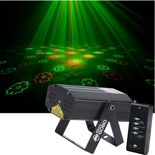 American DJ Micro Gobo Red and Green Laser Light