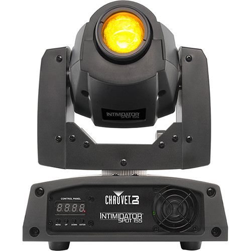 Chauvet INTIMSPOT155 Intimidator Spot 155 Bright Compact LED Moving Head - Black
