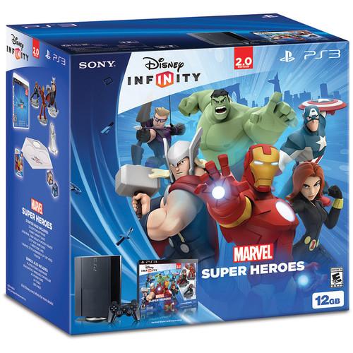 Sony Playstation 3 12GB Disney INFINITY: Marvel Super Heroes (2.0 Edition) Bundle 081-D51-3000473