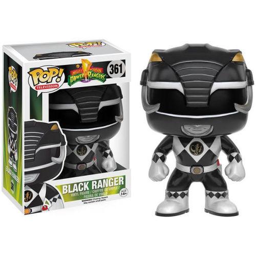 Funko POP! TV Power Rangers - Black Ranger 082-G58-FNK10309