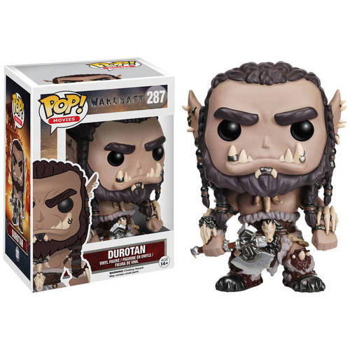 Funko Pop! Movies Warcraft Durotan Figure 082-G58-FNK7468