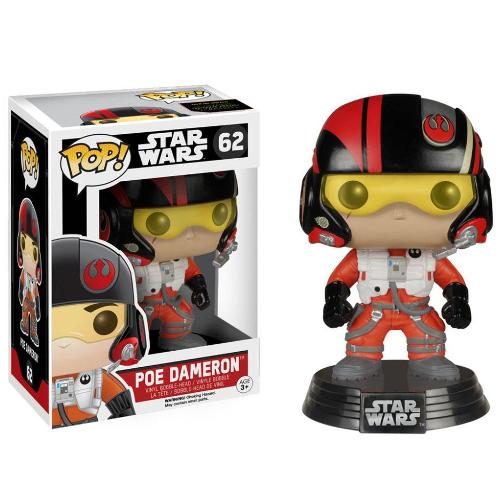 Funko Pop Star Wars: Episode VII The Force Awakens - Poe Dameron 082-R30-FU6222
