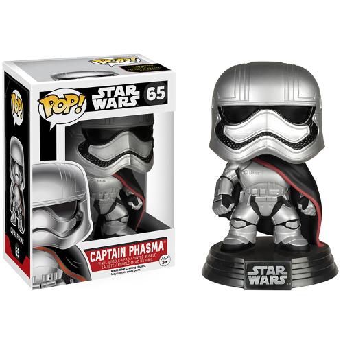 Funko Pop Star Wars: Episode VII The Force Awakens - Captain Phasma 082-R30-FU6226