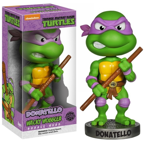 Funko Wacky Wobbler Bobble Head Teenage Mutant Ninja Turtles TMNT: Donatello 082-P24-3318