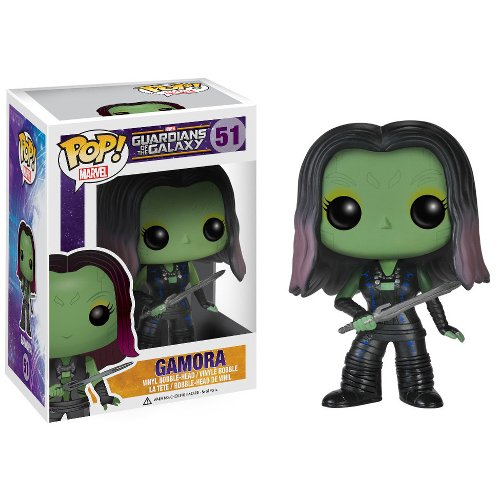 Funko POP! Marvel: Guardians of the Galaxy - Gamora 082-P24-3795