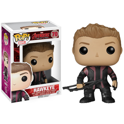 Funko POP! Marvel Avengers: Age of Ultron - Hawkeye Vinyl Figure 082-P24-4781