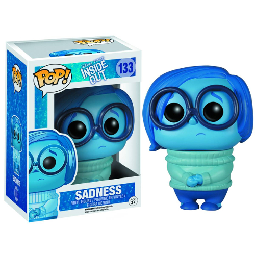 Funko Pop! Disney-Pixar: Inside Out - Sadness 082-P24-4877