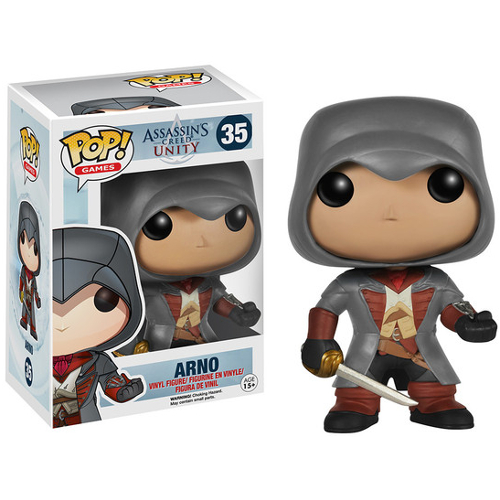 Funko POP! Games Assassin's Creed: Arno Vinyl Figure 082-P24-5061