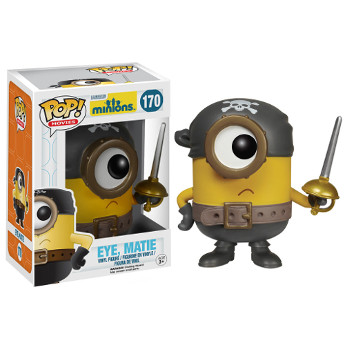 Funko Pop! Movies: Minions - Eye, Matie 082-P24-5107