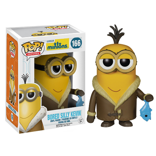 Funko Pop! Movies: Minions - Bored Silly Kevin 082-P24-5108