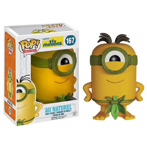 Funko Pop! Movies: Minions - Au Naturel 082-P24-5110