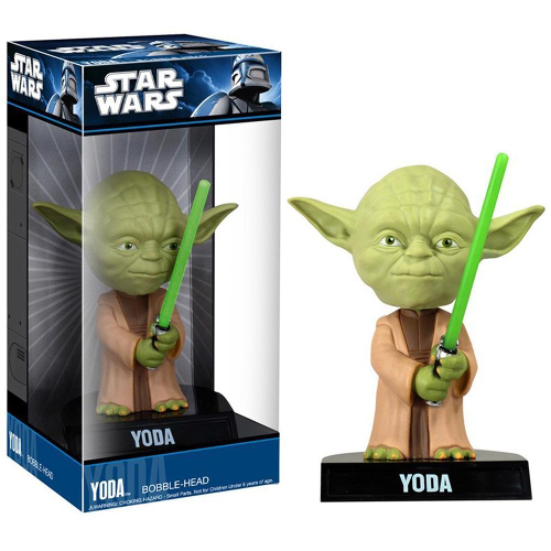 Funko Pop! Wacky Wobbler: Star Wars - Yoda 082-R30-FU8249