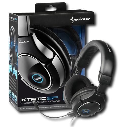 Sharkoon 000SKXTSP X-Tatic SP Stereo Headset 08A-E00-000SKXTSP