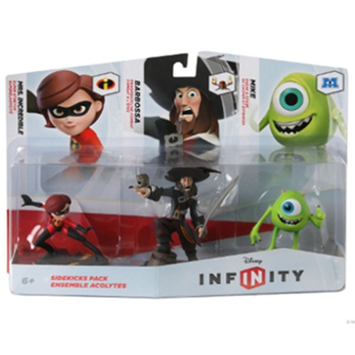 Disney Infinity Figure 3 Pack Sidekicks 08A-G58-02369