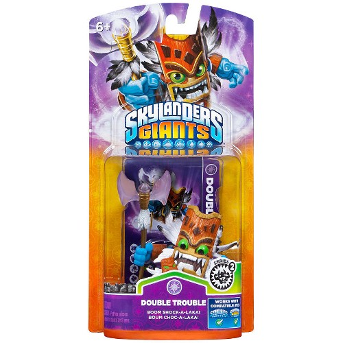 Skylanders Giants Individual Character Pack Double Trouble 2 08A-G58-84514