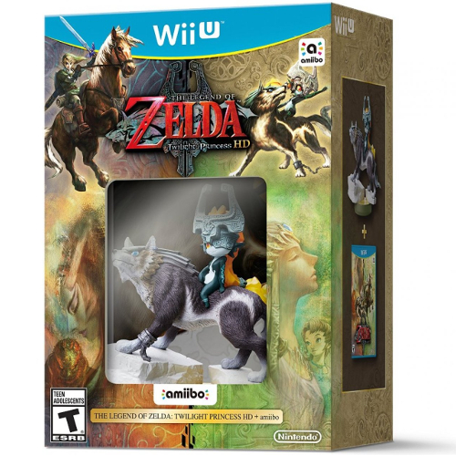 The Legend of Zelda: Twilight Princess HD with amiibo - Nintendo Wii U 08B-P22-90376