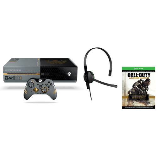 Microsoft Xbox One 1TB Limited Edition Call of Duty: Advanced Warfare Console Bundle 08H-G58-5C7075