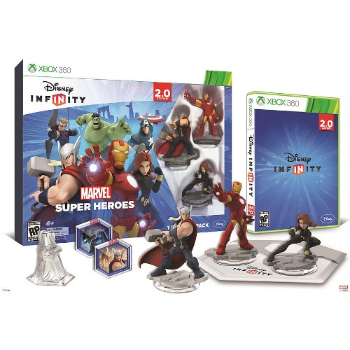 Disney Infinity: Marvel Super Heroes 2.0 Edition Starter Pack - Xbox 360 08I-G58-02565