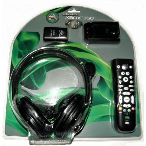 Arsenal Xbox 360 4 in 1 Starter Kit - Black 08I-Q42-AX36KITB