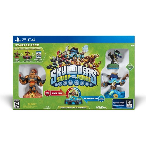 Skylanders: SWAP Force Starter Pack - PlayStation 4 08L-P22-47026